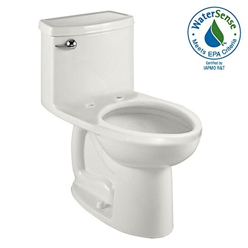 American Standard 2403.328.020 Compact Cadet 3 Flowise One Piece Toilet Less Seat, White - White Cadet 3 Compact