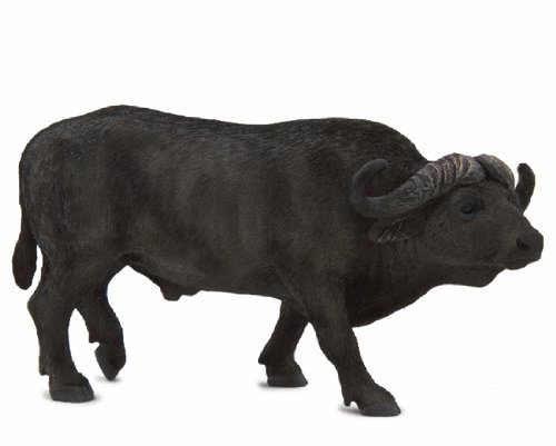 Mojo 387111 African Cape Buffalo Toy Figure (African Buffalo)