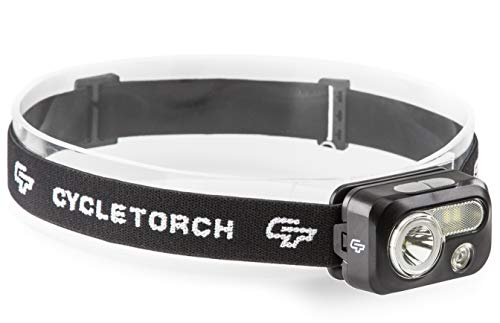 Cycle Torch Headlamp - 230 Lumen, 3 x AAA Batteries Operated