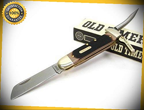 Old Timer Mariner Lever Lock Folding Pocket Sharp Knife Marlin Spike 735OT perfect for outdoor camping hunting