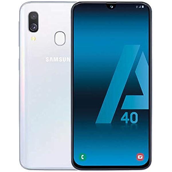 Samsung Galaxy A40 Dual SIM 64GB 4GB RAM SM-A405FN/DS Color Blanco ...