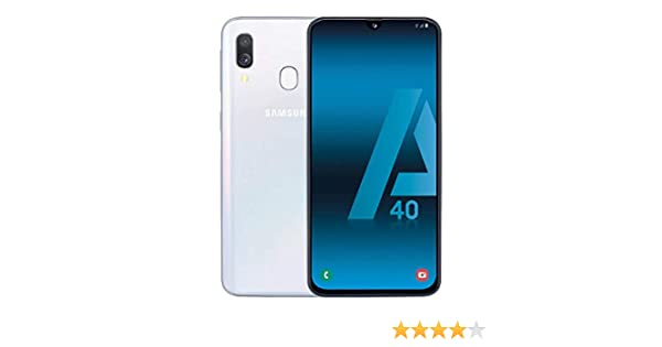 Samsung Galaxy A40 Dual SIM 64GB 4GB RAM SM-A405FN/DS Color Blanco ...