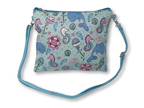 Magical Unicorn OR Mystical Mermaid Purse Crossbody Bags 10