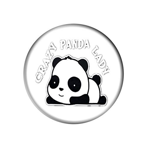 Smart Phone Pop Stand and Grip Socket With for Smartphones and Tablets - Crazy Panda Lady Crazy Panda