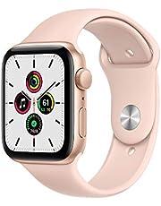 Novo Apple Watch Series SE- GPS, 44 mm - Caixa de Alumínio Rose Gold com Pulseira Esportiva Rose Gold…