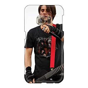 Anti-Scratch Hard Phone Case For Samsung Galaxy S6 (QPB4080ZVxt) Support Personal Customs Trendy 30 Seconds To Mars Band 3STM Skin