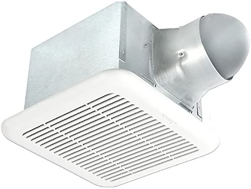 Delta BreezSignature SIG80-110MHLED 80 110 CFM Exhaust Bath Fan Dimmable LED Light Night-Light, Adjustable High Low Speeds, Adjustable Motion Humidity Sensors