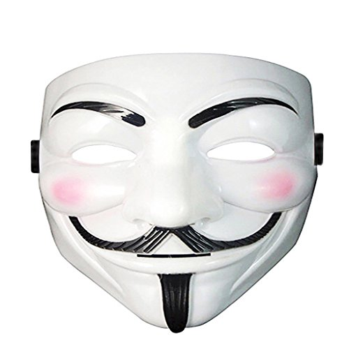 Diona J V For Vendetta Face Guy Fawkes Anonymous Mask Halloween Cosplay Costume (Guy Dance Costumes)