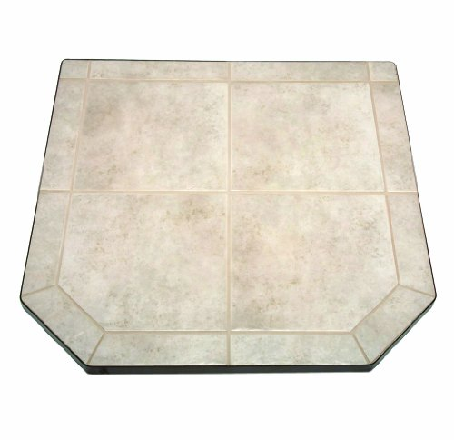US Stove HS40DLCT1 American Classics Carmel Tile Hearth Pad, 40-Inch (Stove Pad)