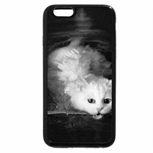 iPhone 6S Case, iPhone 6 Case (Black & White) - He thinks he's a dog!