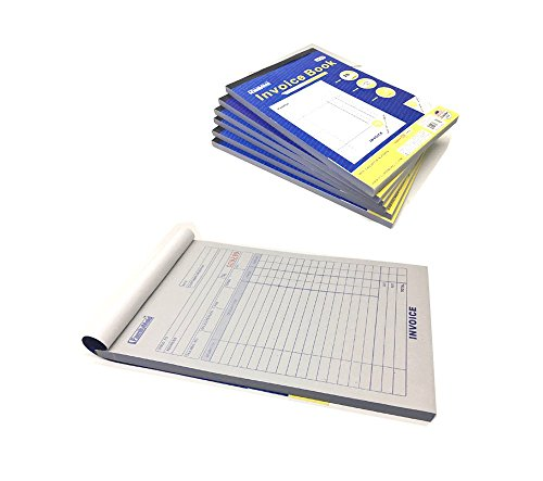 "180 Set Forms - Carbonless 3-Part, – Snap-Off Invoice Book Record Customer Order With Quantity Description Price Total Amount - Size 5-1/2"" x 8-7/16"" - Snap Off Carbonless Invoices Triplicate"