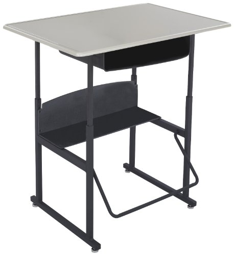 Safco Products AlphaBetter Adjustable-Height Desk, 1207BE, 36