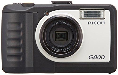 Ricoh G800 Waterproof, Dustproof and Shock Chemical Resistance Compact Digital Camera - International Version
