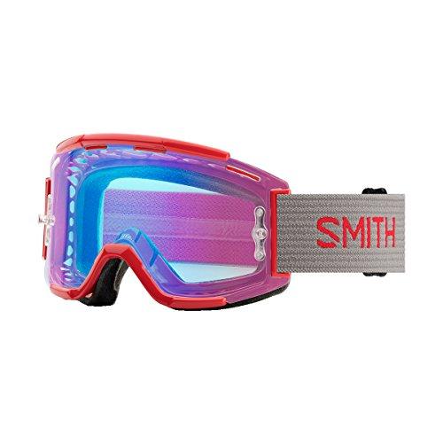 Smith Optics Squad MTB Adult Off-Road Goggles - Rise Split/Chromapop Contrast Rose Flash/One Size