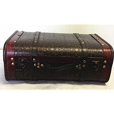 Replica Vintage-Style Wooden Suitcases (HF 018B-1)