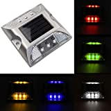 Solar Power Deck Lights, Road Stud Square