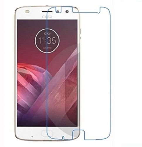 Shop Buzz Tempered Glass Screen Protector  9H Hardness 0.33mm Thickness2.5D Round Edge  for Motorola Z2 Play