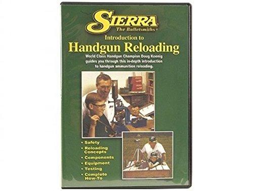 Sierra Bullets Reloading DVD Introduction to Beginning Handgun