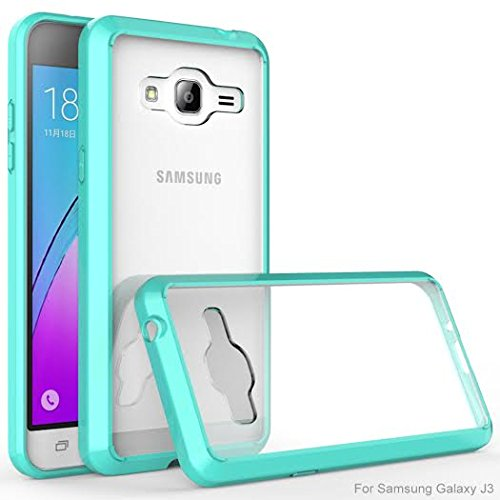 Galaxy J3 Case, Galaxy Express Prime Case, Galaxy Sol, Galaxy Amp Prime  [Anti-Scratches/Drop Protection] Ultra Slim TPU Bumper Flexible Soft Bumper