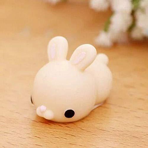 1 piece Kawaii Mini Animals Mochi Squishy Panda Chicken Duck Sheep Pig Rabbit Tiger Soft Phone Accessories Squeeze Stretchy Kids -