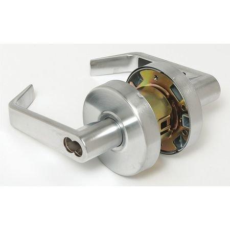 Lever Lockset, Mechanical, Entrance, Grd. 2