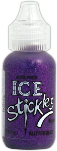 Ice Stickles Purple Glitter Glue - 1 oz. 1 pcs sku# 1034444MA
