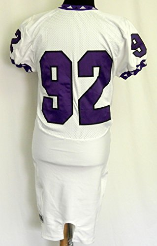 2008 Texas Christian TCU Joseph Bates #92 Nike Game Used Jersey SKU: - Nike Jerseys Texas