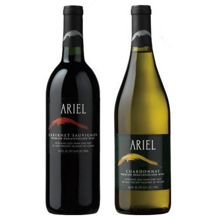 - Ariel Non-alcoholic Wine Two Pack - Includes Ariel Cabernet and Ariel Chardonnay