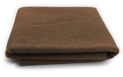 Brown Sugar - XXL Wool Felt Sheet - 100% Virgin Merino Wool - 36 in x 36 in