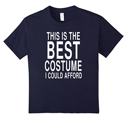 Best Sorority Girl Halloween Costumes (Kids Funny Last Minute Costume For Halloween: Joke T-Shirt 12 Navy)