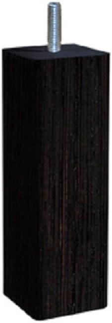 Natural Madera /Douceur escandinava Cuadrado/ 5 x 5 x 18 cm Margot/ /Juego de 4/Patas de somier Madera 5/x 5/x 18/cm