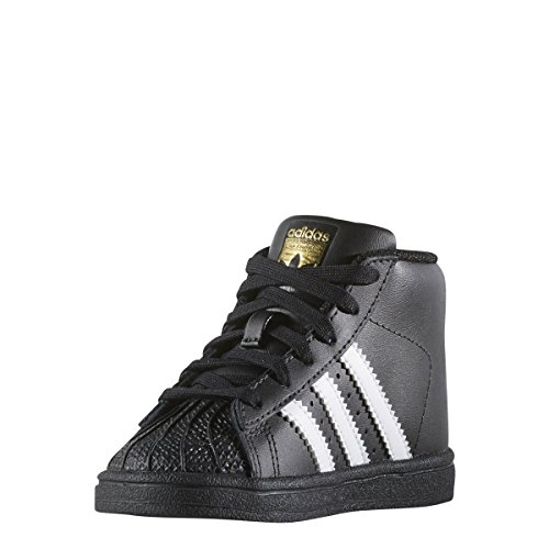 adidas Originals Baby Pro Model Inf Sneaker, Core Black, Ftwr White, Gold Met. , 4K M US Infant by adidas (Image #3)