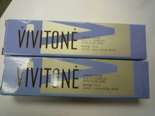 Vivitone Cream Hair Color 6GC DARK GOLDEN COPPER by N/A
