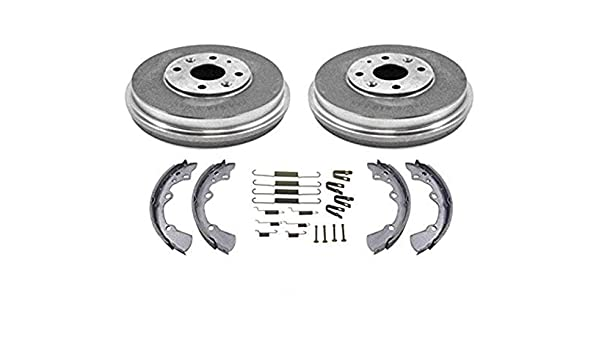 1997 For Ford Escort Rear Drum Brake Shoes Set Both Left and Right with 2 Years Manufacturer Warranty
