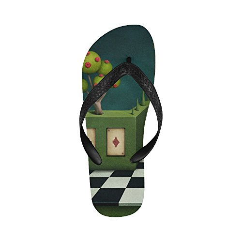 Sandali Da Spiaggia Infradito D-story Recinzione Verde Per Uomo / Donna