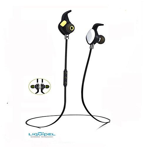 aelec bte268 bluetooth headphones magnetic wireless earbuds waterproof sweatp. Black Bedroom Furniture Sets. Home Design Ideas