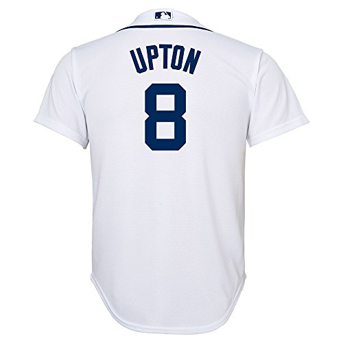 Detroit Tigers Home Youth Jersey - Outerstuff Justin Upton MLB Majestic Detroit Tigers Cool Base Home Jersey Youth (S-XL)