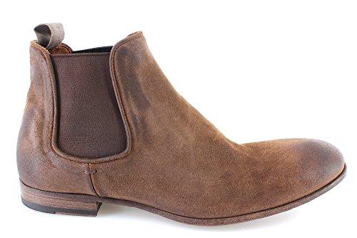 PANTANETTI Zapatos Hombres Botines 11422A Rex Avela Focus 488 CuoioM Gamuza New