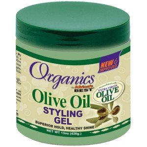 Africa's Best Organic Olive Oil Styling Gel 445 ml Jar (Haarpflege; Styling Produkte)