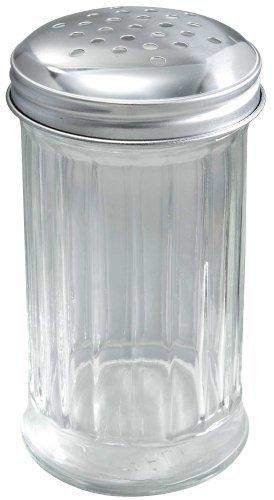Winco 12 piezas Azúcar vertedor con perforado en la parte superior, 12-Ounce por