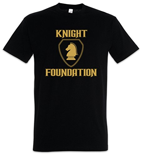 Black Knight Foundation Logo T-Shirt - S to 5XL