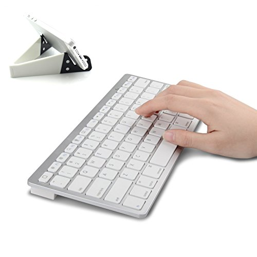MOTONG Ultra Slim Mini Bluetooth 3.0 Wireless Keyboard with