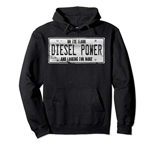 Diesel Power on the Floor Truck Driver Engine Tool Hoodie (Diesel Power Hoodie)