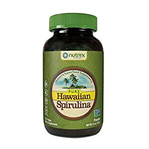 Pure Hawaiian Spirulina Powder 5 oz – Boosts Energy and Supports Immunity – Vegan, Non GMO – Natural Superfood Grown in Hawaii