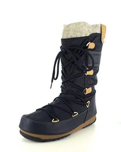 Tecnica Kvinna Monaco Moon Boot Blå Denim