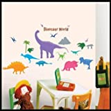 Dinosaur World Repositional Wall Decal