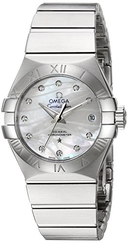 Omega-Womens-Constellation-Swiss-Automatic-Stainless-Steel-Dress-Watch-ColorSilver-Toned-Model-12310272055002