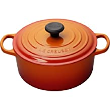 Le Creuset 4.2-Litre Round French Oven, Flame