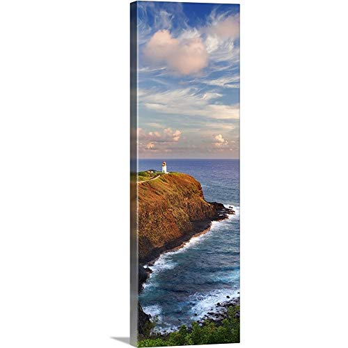 Point Kilauea - GREATBIGCANVAS Gallery-Wrapped Canvas Entitled Hawaii, Kauai, Kilauea Point Lighthouse at Kilauea National Wildlife Refuge by M Swiet Productions 20