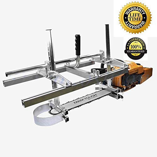 Carmyra Portable Chainsaw mill 36' Inch Planking Milling Bar Size 14' to 36'